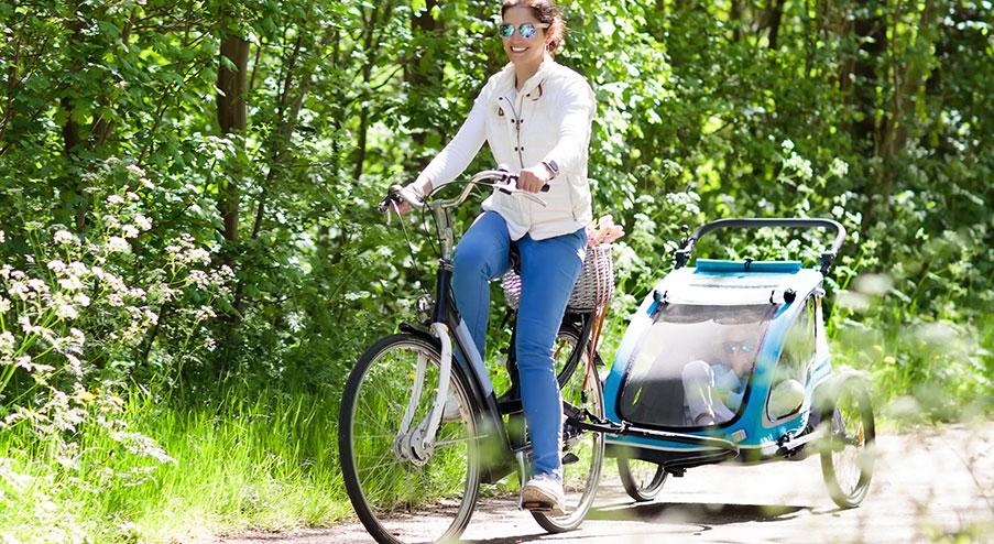 Cykelvagnen som fått bäst i test